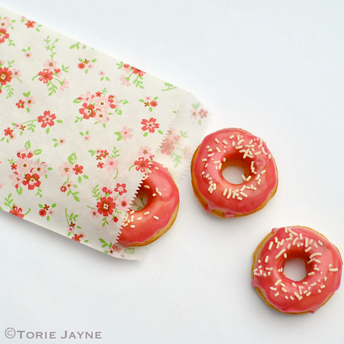 Bag of Gluten free doughnuts