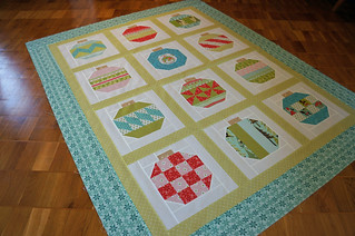 Vintage Holiday Quilt Top