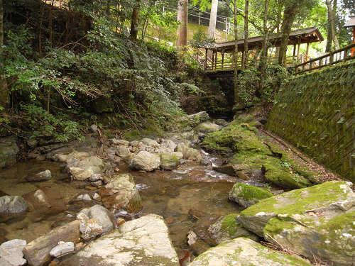 桜木神社と象の小川@吉野町-13