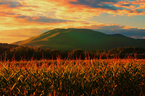 sunset weather project corn day cloudy farm ascutney lacinventory