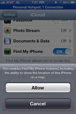 شرح تفعل خاصية ايجاد الايفون بعد سرقته و كيفية استخدامها Find My iPhone 7988106671_6d9df1d914