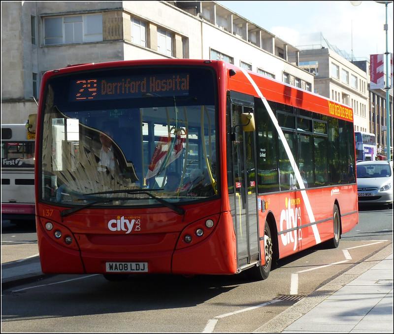 Plymouth Citybus 137 WA08LDJ