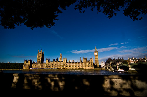 Westminster - Parliament Along the Thames - 09-12-12