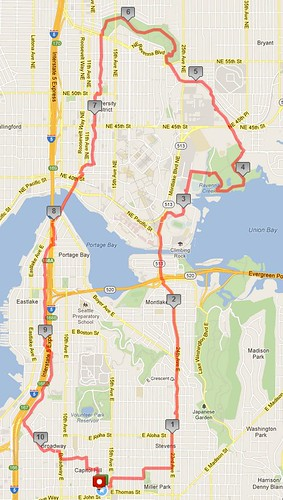 Today's awesome walk, 10.79 miles in 3:20 by christopher575