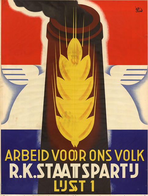 Jos van Woerkom. Roman Catholic State Party. 1937
