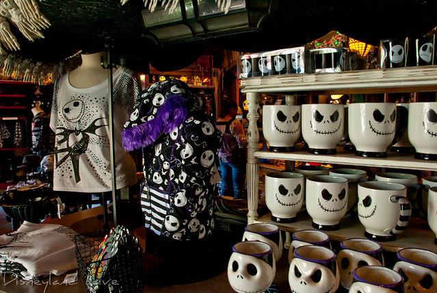 Nightmare Before Christmas Merchandise - Disneyland