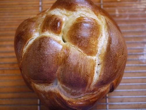 Challah - baked