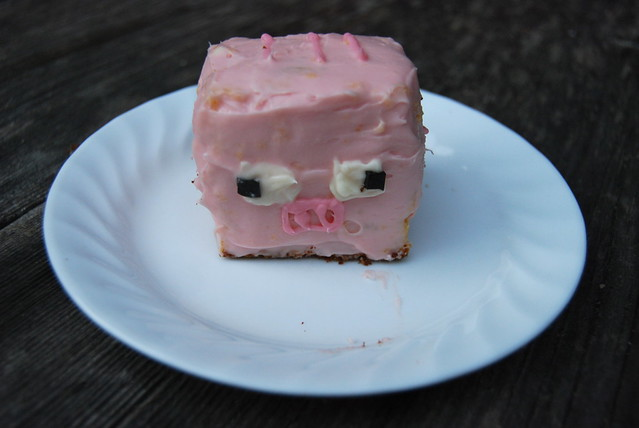 Minecraft Pig Cake Images : Minecraft Pig Cake Flickr - Photo Sharing!