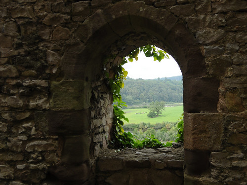 Window, Chepstow Castle