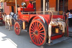 Georgetown Fire Dept Horse Drawn Fire Egine No. 3 4