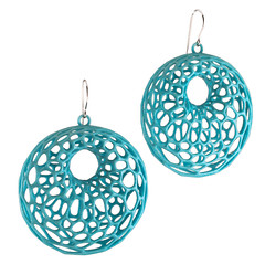 Cell Cycle jewelry in turquoise