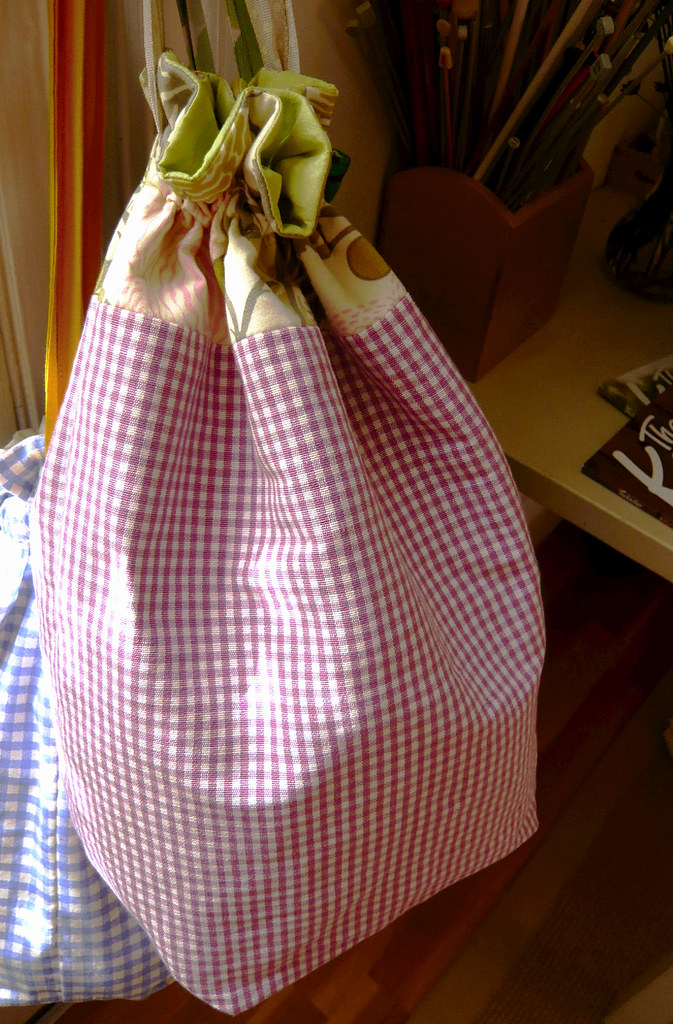 Sweater sized project bags