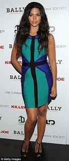 Camila Alves Bandage Dress Herve Leger Celebrity Style Women's Fashion