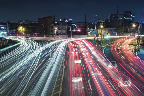 Light trail_Incheon