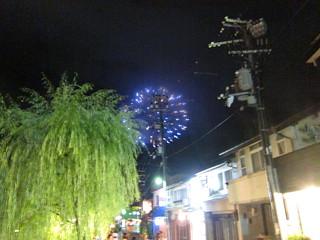 Fireworks in Kinosaki