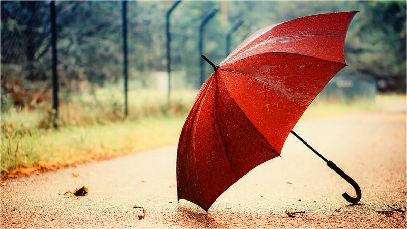 لغز المظلة