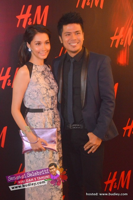 Scha Alyahya & Awal Ashaari di H&M Lot 10