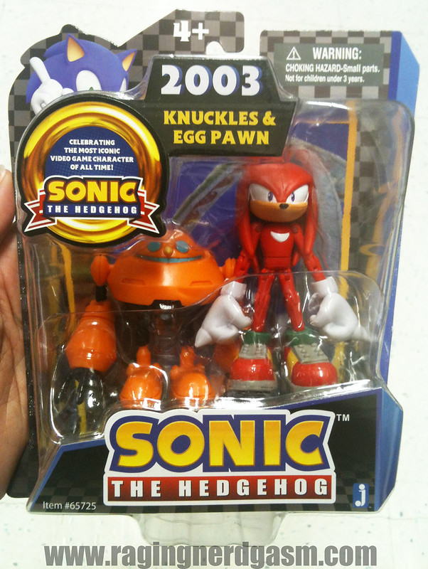 Sonic The Hedgehog Figures by Jazwares Knuckles & Egg Pawn 007
