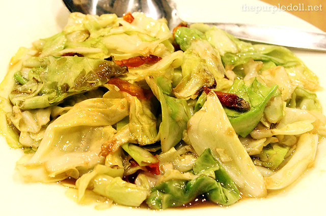Sour and Spicy Cabbage P120