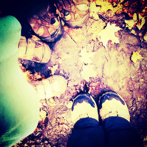 Happy Autumnal Equinox! #fromwhereIstand #Ithaca #buttermilkfalls #hiking #leaves #fall #autumn