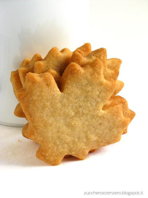 Biscotti autunnali all'acero