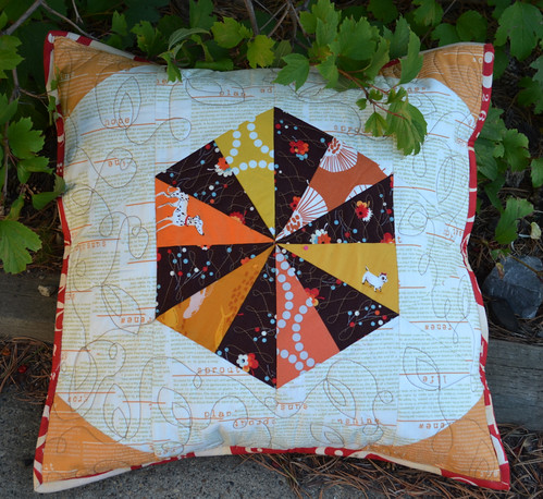 A pillow for me - from the X-Factor pillow swap