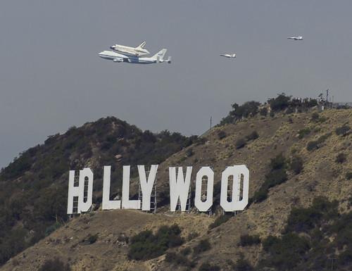 Shuttle Over Hollywood