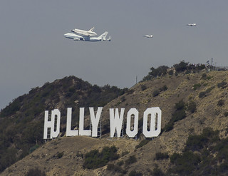 Shuttle Over Hollywood