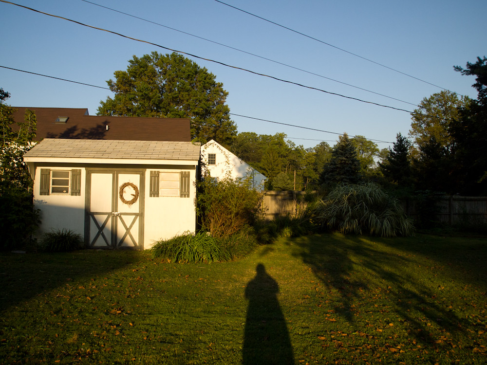 Long Shadow, Backyard