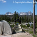 Tent Camping in Idaho's Sawtooth Mountains 1 - © Copyright by Marty Nelson.