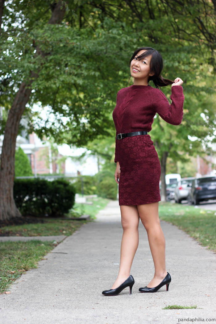 oxblood fall fashion