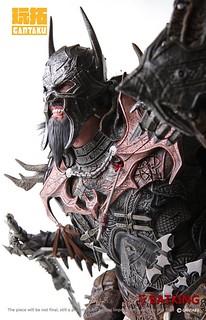 Gantaku【維京蝙蝠俠:蝙蝠王】The Bat King 1/4 比例全身雕像作品