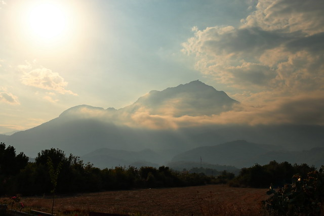 Tahtalı Dağı in mist