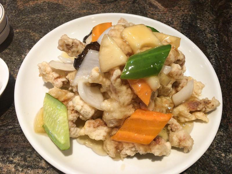 ジャジャン麺ハウス韓国風酢豚