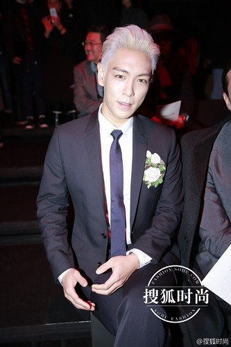 TOP - Dior Homme Fashion Show - 23jan2016 - Sohu Fashion - 02