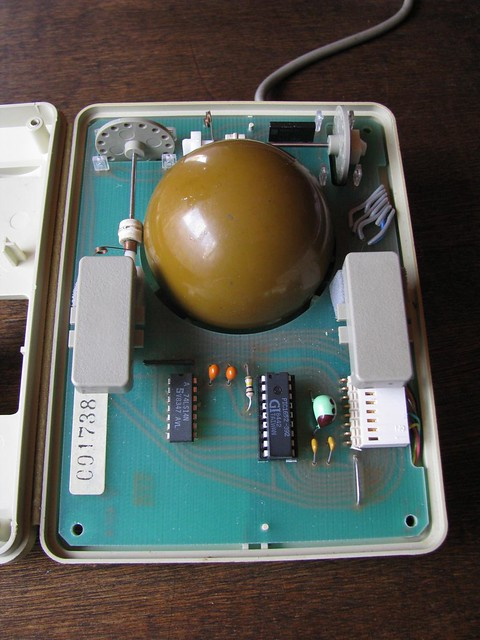 Assimilation Process Trackball for Mac Plus and Apple II