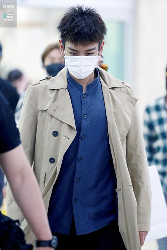 Big Bang - Gimpo Airport - 07jun2015 - TOP - Utopia - 04