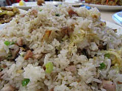 Salt Fish and Chicken Fried rice