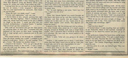 12/18/75 Rolling Stone Magazine (Blowing It - 6/6)