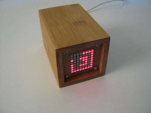 Matrixclock an led matrix and no buttons
