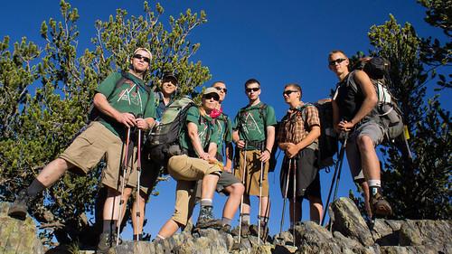 On Black Mountain summit