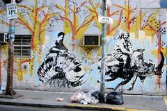 Buenos Aires - Balvanera: Streetart by rundontwalk