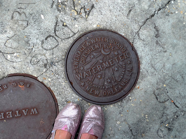 Even the water meters are pretty