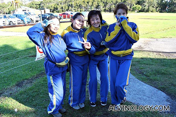 These ladies skydived too