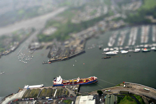 Harbour - tiltshift