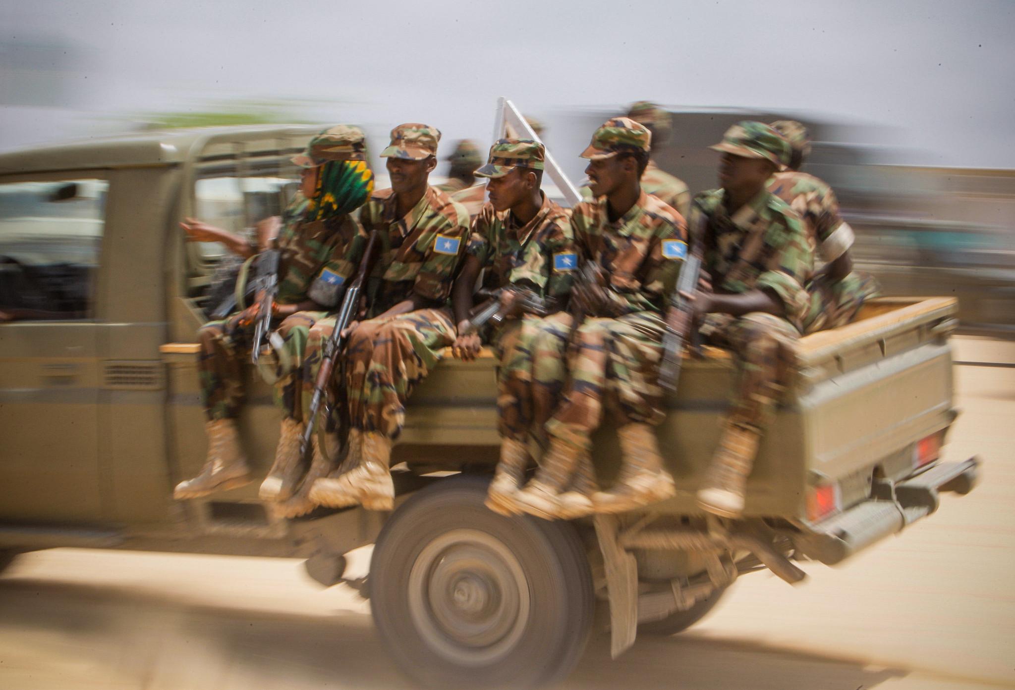 Armée Somalienne / Military of Somalia 7786579306_a3632a5233_k