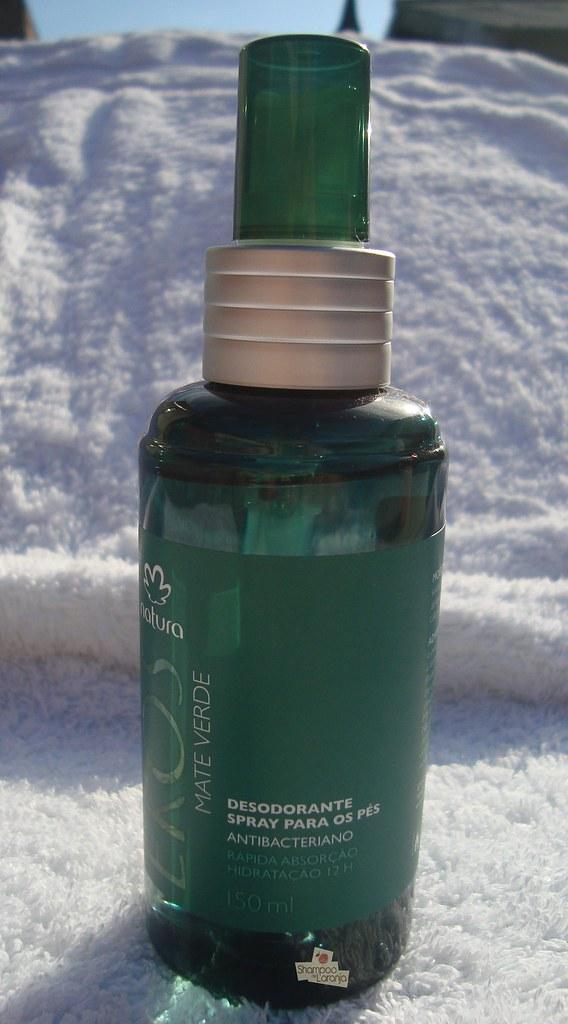 Adeus chulé: Desodorante para pés Mate Verde Natura