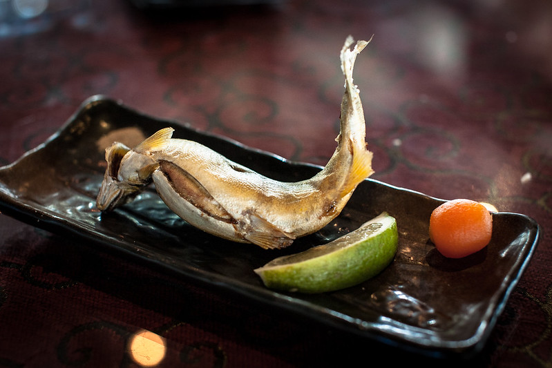 八甲漁場 椒鹽烤香魚