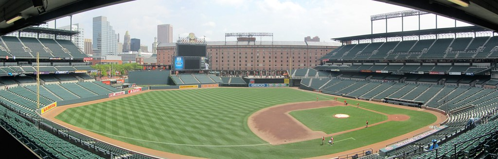 Camden Yards From Left Field