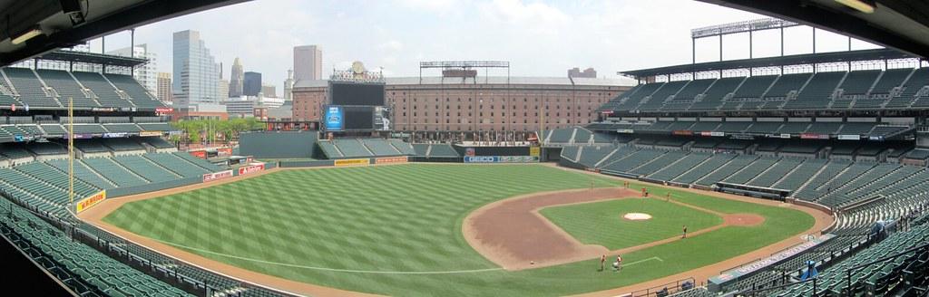 Camden Yards From Left Field